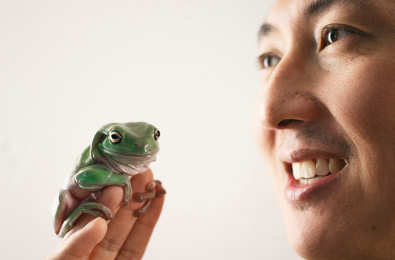 David Hu, de Georgia Tech estudia la biomecánica de la locomoción animal.