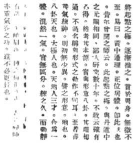 """""""詳 論 形 意 八卦 太極 之 原理"""" 孫祿堂 (1932) - pag 4"""