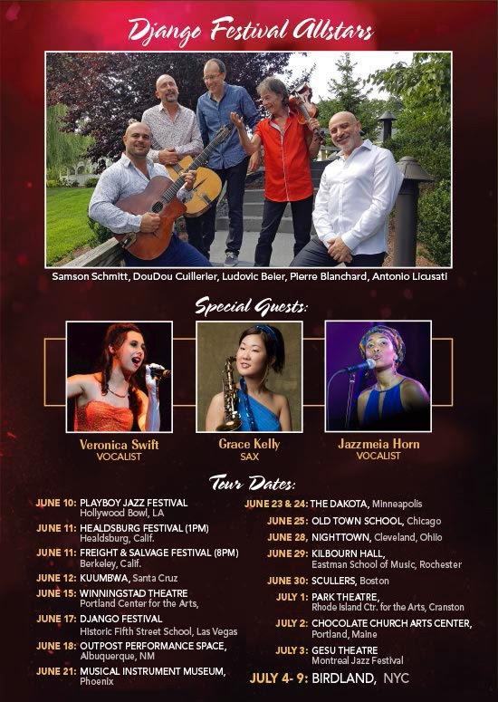 Django Festival Allstars Tour