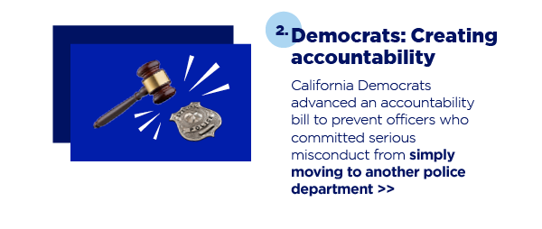 2. Democrats: Creating accountability