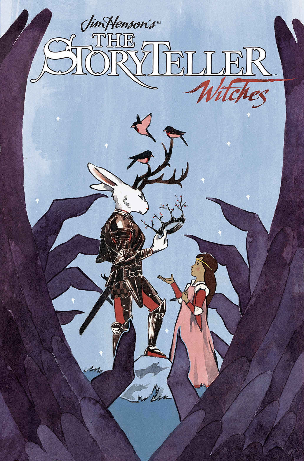 JIM HENSON'S THE STORYTELLER: WITCHES #1 Cover A by S. M. Vidaurri