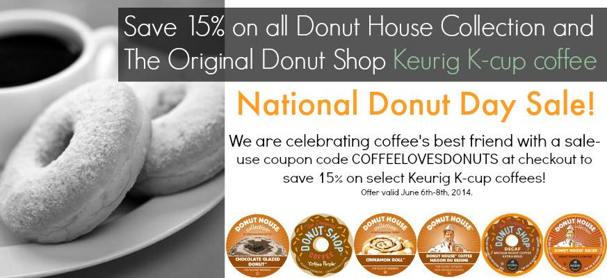 National Donut Day Keurig K-cup coffee sale