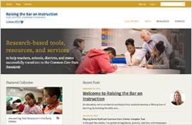 Raising the Bar Website