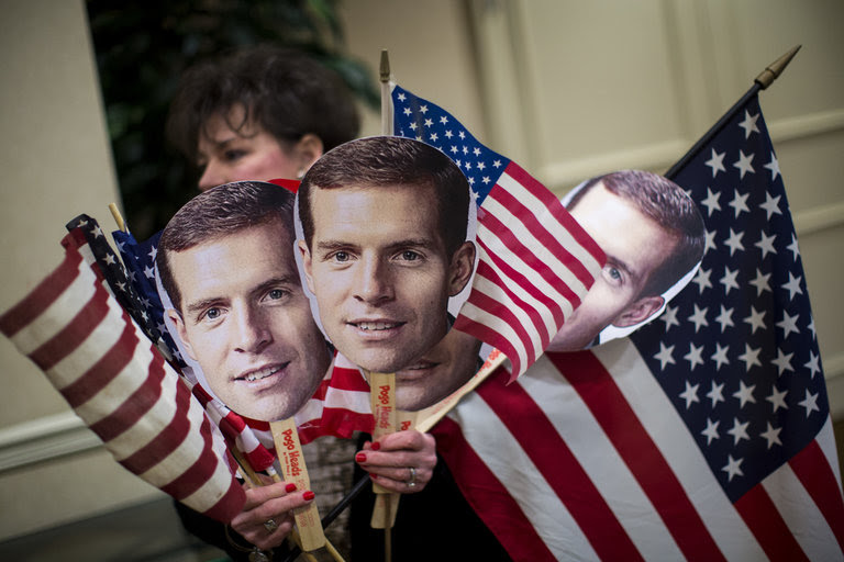 Conor Lamb's approach to his Pennsylvania congressional campaign could become a template for a cluster of more moderate Democrats contesting conservative-leaning seats in other states.