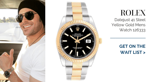 Steel Yellow Gold Black Dial