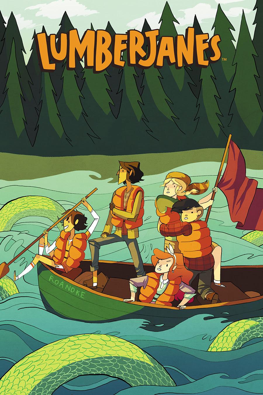 LUMBERJANES #2 Cover A by Noelle Stevenson