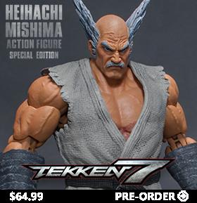 Tekken 7 Heihachi Mishima (Special Edition) 1/12 Scale Figure