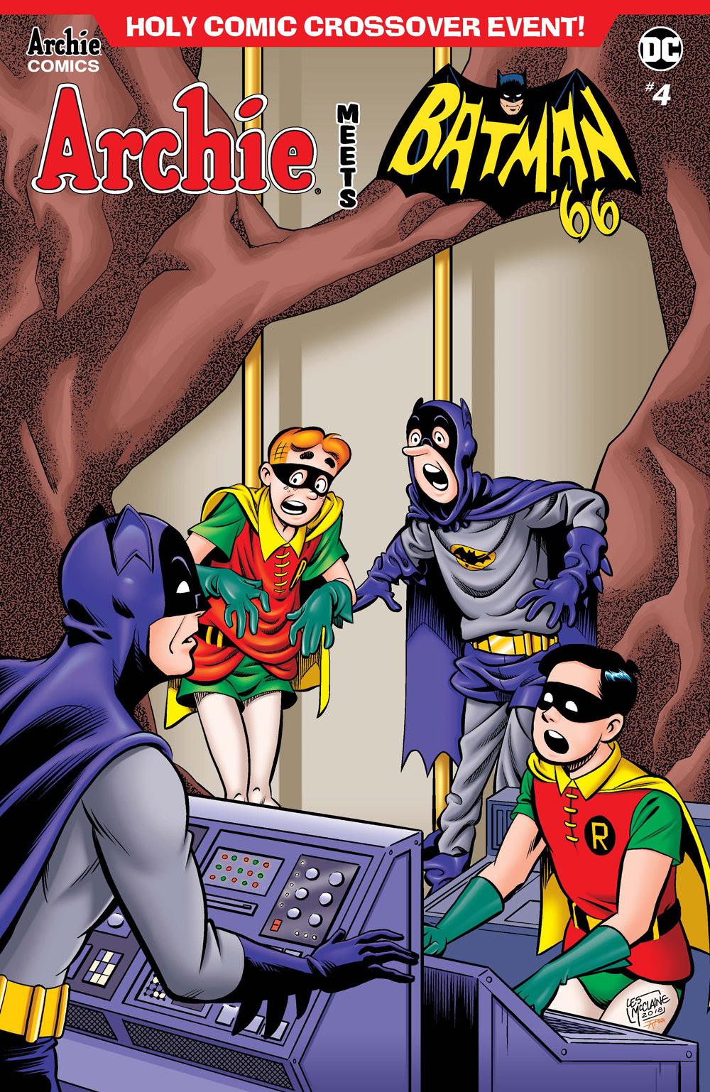 Archie Meets Batman '66 #4: CVR C McClaine