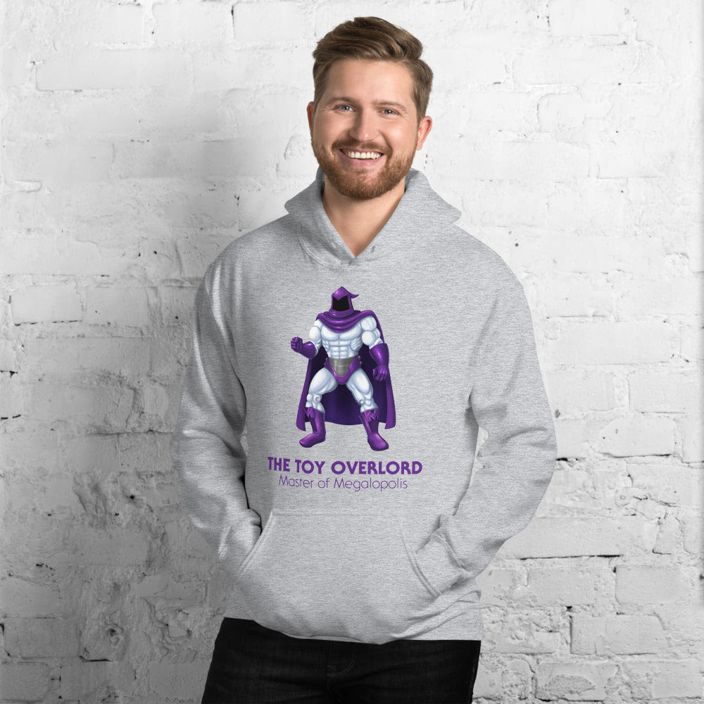 Image of Master of Megalopolis Cotton/Poly Blend Hoodie (Unisex)