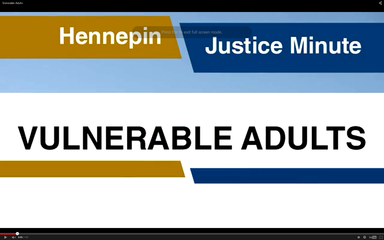 Vulnerable adult video