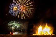 Cassiobury Park fireworks