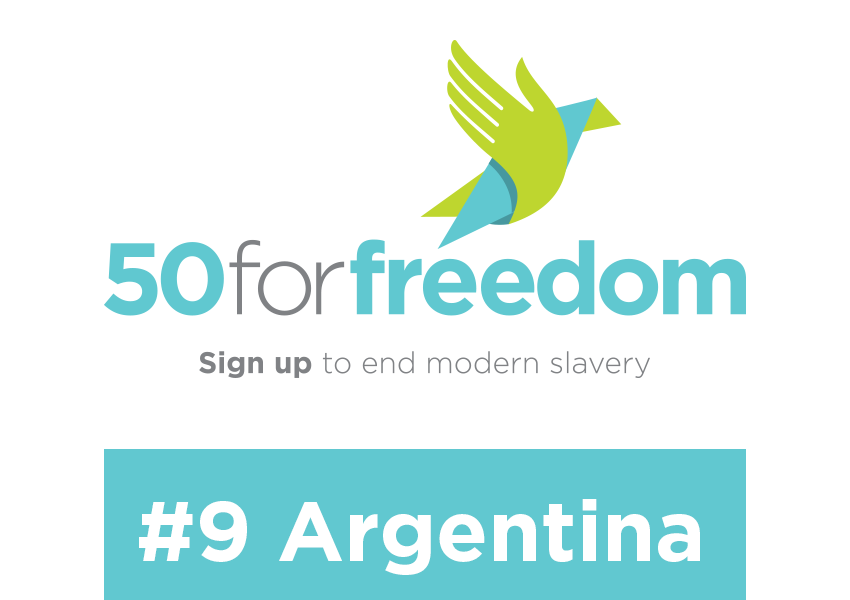 50 for Freedom Campaign to End Modern Slavery