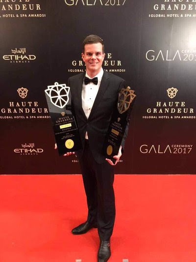 Jamie Mead, regional general manager, Malaysia at the Haute Grandeur Global Hotel Awards