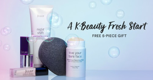 Julep: Free 5-pc GWP for NEW J...