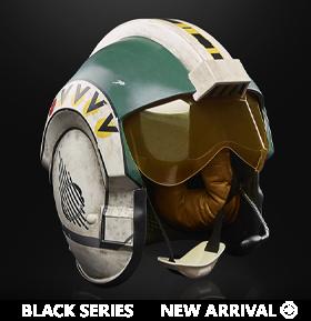 Star Wars: The Black Series Wedge Antilles 1:1 Scale Wearable Helmet (Electronic)