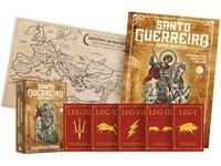 Livro Santo Guerreiro: Roma Invicta Eduardo Spohr