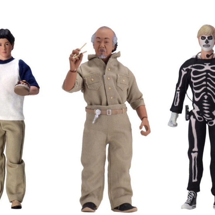 Image of The Karate Kid Set of 3 Action Figures