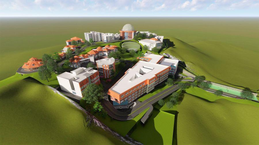 Walk-through of Architect's plan for CVV Campus