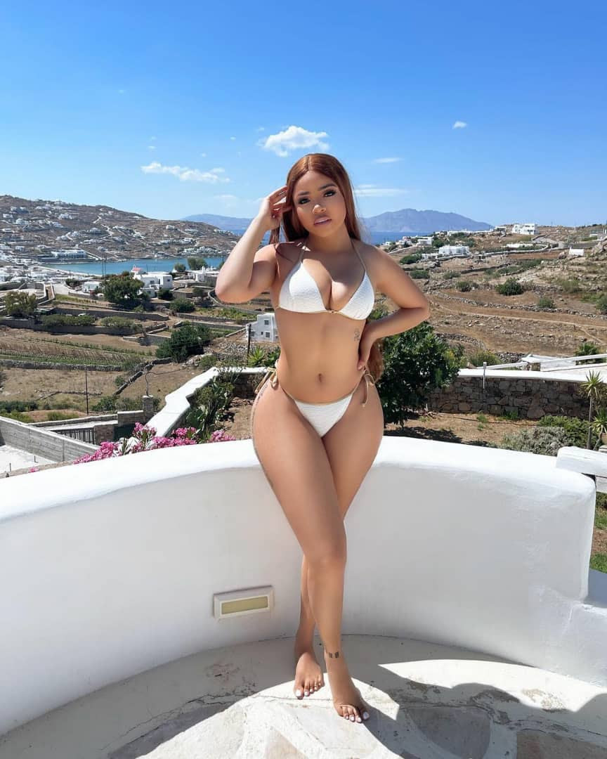 Reality TV star, Nengi, flaunts her curves in sexy bikini photos