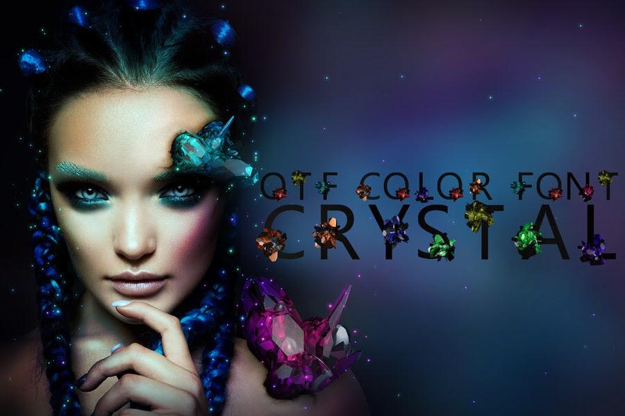 otf color font crystal