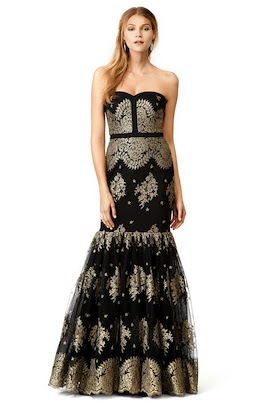 Rent the Runway's 5Y Collection, Badgley Mischka  Helena Gown