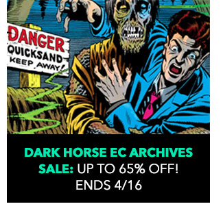 Dark Horse EC Archives Sale: up to 65% off! Sale ends 4/16.