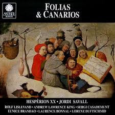 Image result for folias & canarios savall