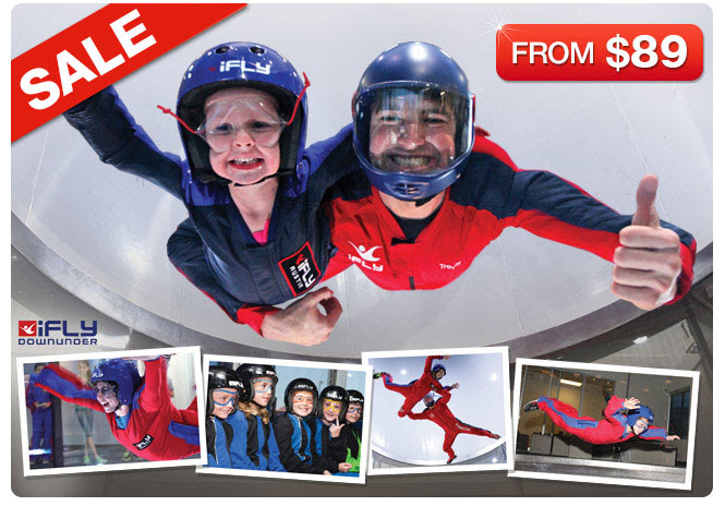 Adrenalin indoor Skydiving from only $89