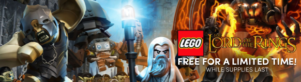 LEGO® Lord of the Rings FREE for a limited time