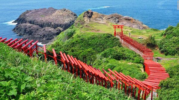Ngây ngất những thắng cảnh đẹp tựa cõi tiên ở Nhật Bản