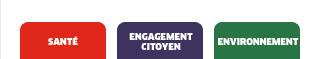 SANTE / ENGAGEMENT CITOYEN / ENVIRONNEMENT