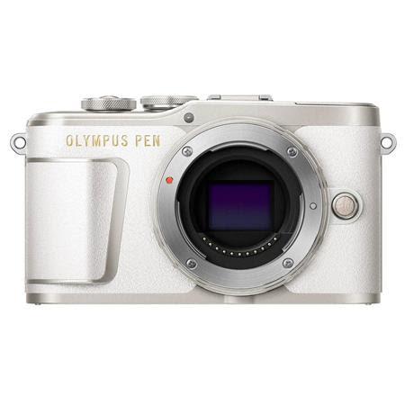 PEN E-PL9 16.1MP Mirrorless Camera Body, Pearl White