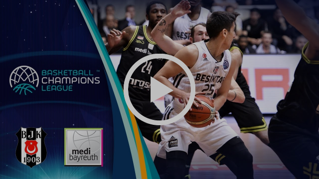 Besiktas Sompo Japan v medi Bayreuth - Highlights - Basketball Champions League