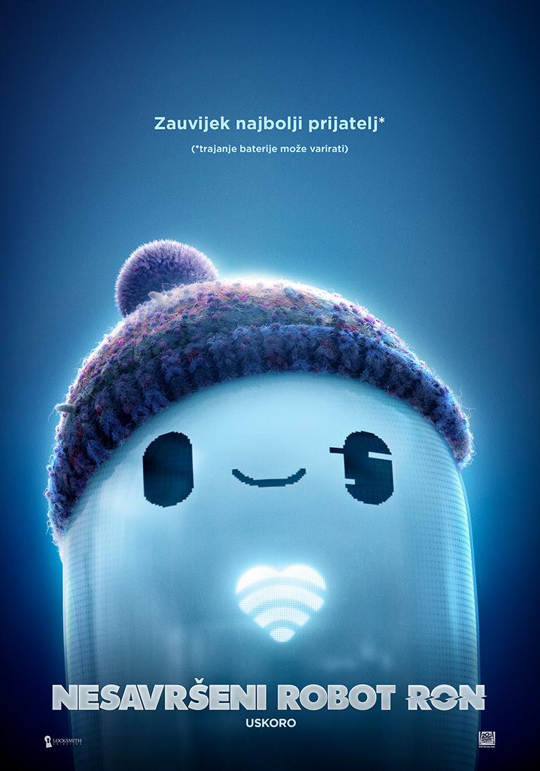 Animirani 'Nesavršeni robot Ron' u hrvatska kina stiže u listopadu ove 2021. godine