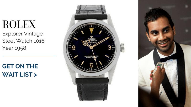 Rolex Explorer Vintage Steel Watch 1016 Year 1958