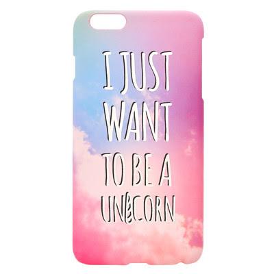BE A UNICORN PHONE CASE