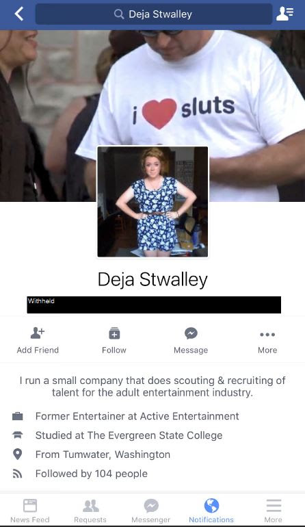Stwalley Facebook profile