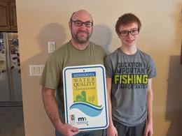 Greg Symanietz and his son Charlie Symanietz