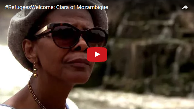 YouTube Embedded Video: #RefugeesWelcome: Clara of Mozambique