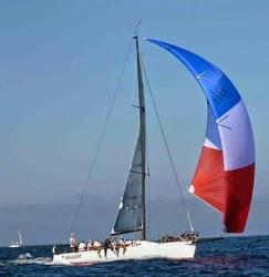 J/125 Timeshaver sailing off California
