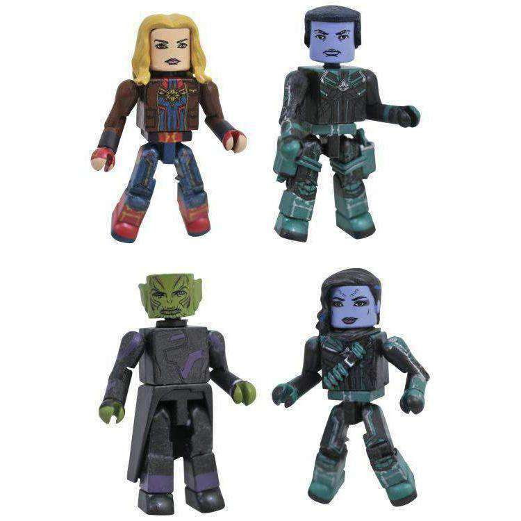 Image of Captain Marvel Minimates Box Set - MAY 2019