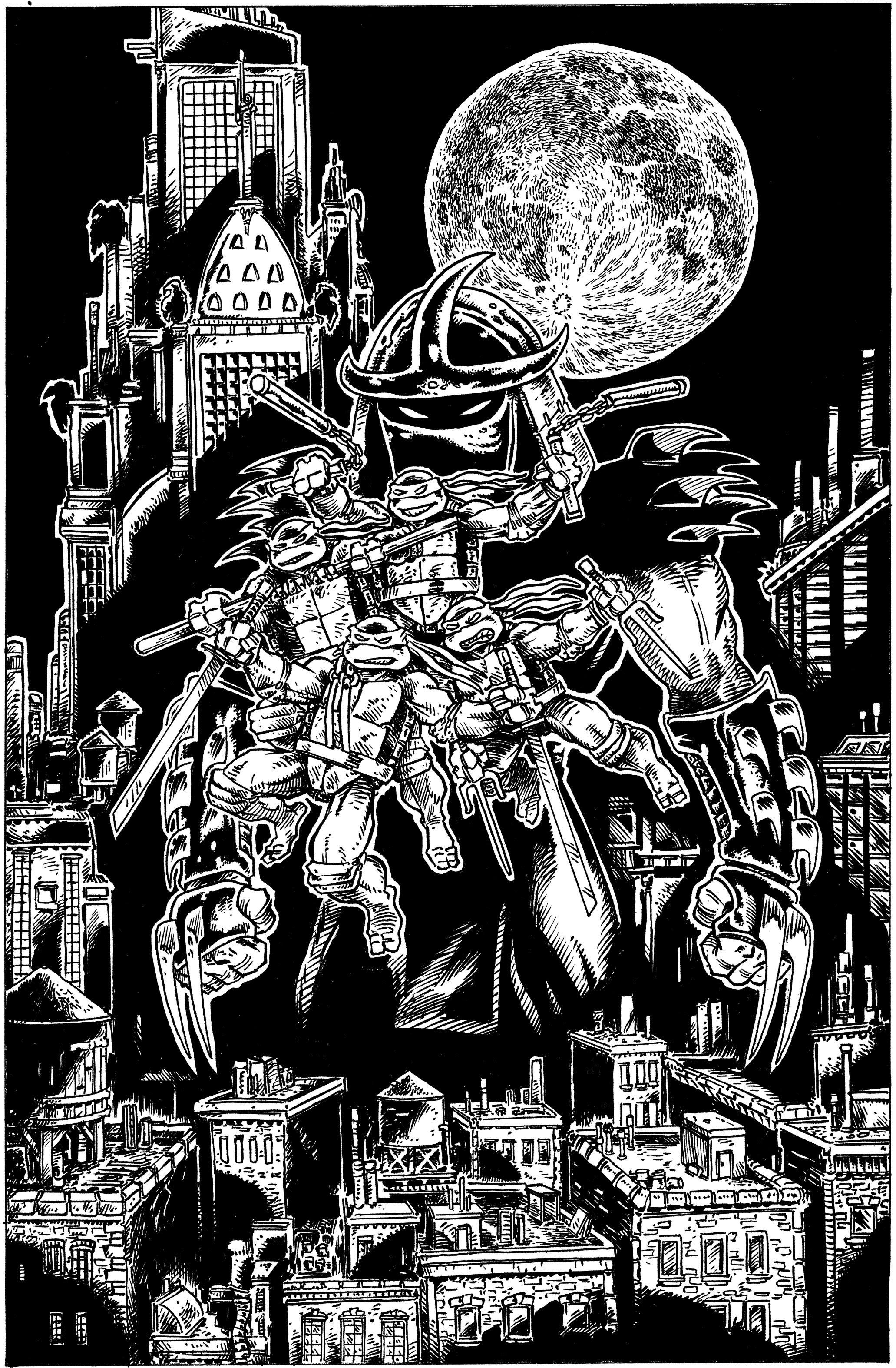 The Last Ronin Takes The Teenage Mutant Ninja Turtles Into A Dark