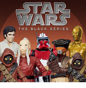 "STAR WARS BLACK 3.75"" SERIES 02"