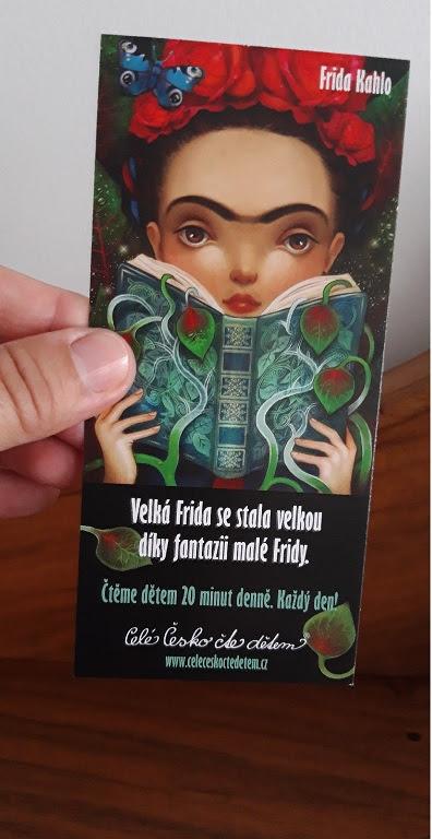 Záložka s Fridou Kahlo