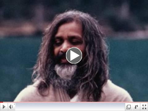 Transcendental Meditation - Maharishi Mahesh Yogi at Lake Louise, Canada, 1968