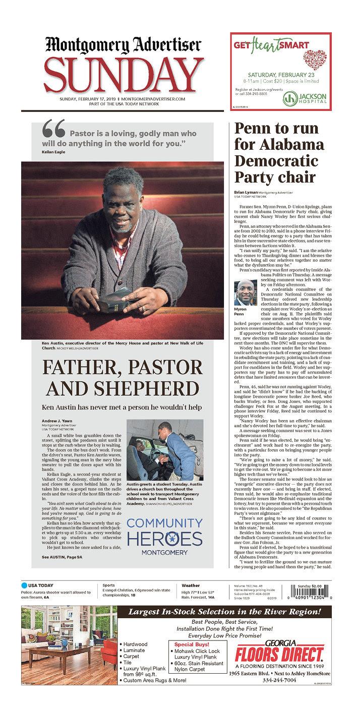 Weekend Digest- February 17, 2019 | Alabama Daily News