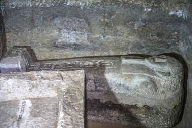 Los arqueólogos creen que la tumba está intacta
