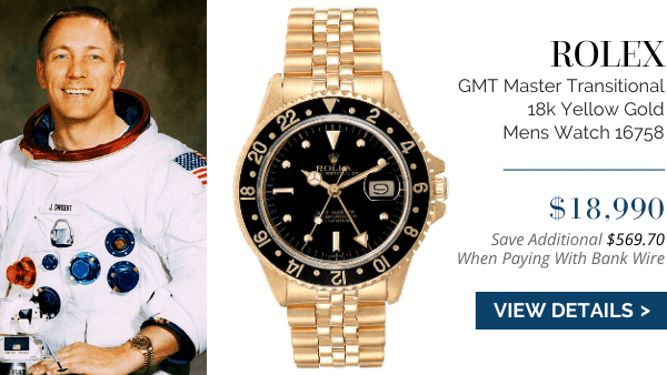 GMT Master Transitional 18k Yellow Gold