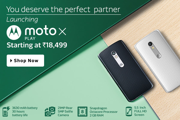 Launching Moto X Play starting 18,499