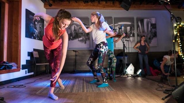 Dancers perform at the Give Back Tahoe Variety Show